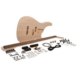 Seismic Audio – SADIYG-18 – DIY Modern Bass Style Electric Bass Guitar Kit – U ...