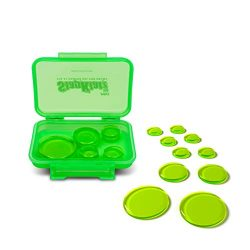 SlapKlatz Pro – Alien Green | 10 Pieces of Superior Drum Gel Dampeners in 3 Sizes | FREE r ...