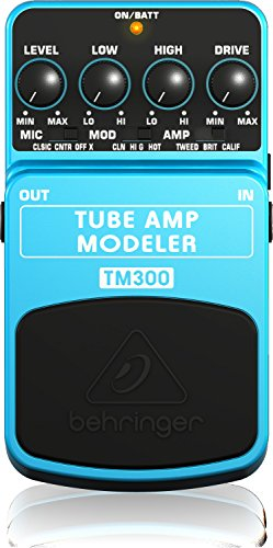 Behringer TM300 Ultimate Tube Amp Modeling Instrument Effects Pedal