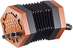 Cherrystone wooden diatonic concertina accordion (30 keys)
