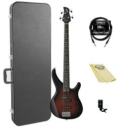 Yamaha TRBX174 OVS 4-String Bass Guitar Pack