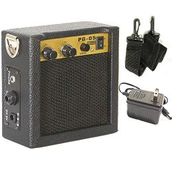 Luvay Guitar Mini Amplifier with Power Adapter for Guitar, Ukulele, Bass, Violin, Mandolin, Banj ...