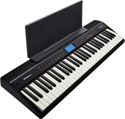 Roland GO:PIANO Education Bundle Digital Keyboard with Integrated Bluetooth Speakers and Faber P ...