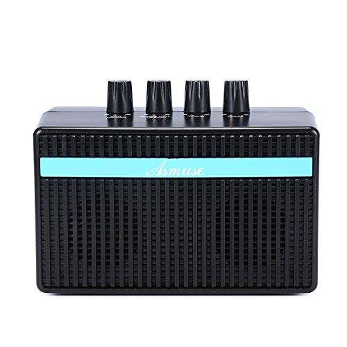 bass amp mini bass combo 3w bass guitar amplifier with distortion effect and headphone jack for. Black Bedroom Furniture Sets. Home Design Ideas