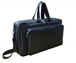 Baritone Case For Moog Grandmother Synthesizer Heavy Padded Gig Bag (Bag Size 24X16X8 Inch)