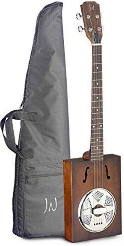 J.N. Guitars 4 String Resonator Guitar Right (CASK-PUNCHEON-1