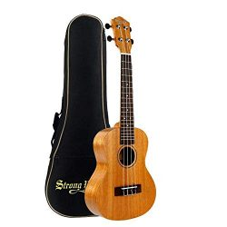 Tenor Beginner Ukulele 26 Inch Mahogany Professional Uke Starter Kit for Beginner Kid Student Ad ...