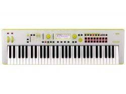 Korg Kross2 61-Key Neon Keyboard Workstation (Neon Green)