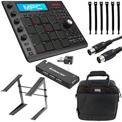 Akai Professional MPC Studio Black Music Production Controller with 7+GB Sound Library Download  ...