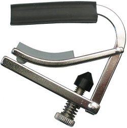 Shubb C5R Standard Capo for Banjo, Mandolin, or Bouzouki – Radiused – Polished Nickel