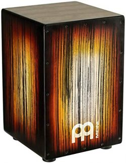Meinl Percussion Cajon Box Drum with Internal Metal Strings for Adjustable Snare Effect-NOT Made ...