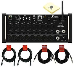 Behringer X Air XR18 18-Channel, 12-Bus Digital Mixer for iPad/Android Tablets with 16 Programma ...