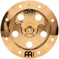 Meinl 16″ Trash China Cymbal with Holes – Classics Custom Brilliant – Made In  ...