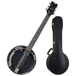 Dean BW6E BC Backwoods 6 String Acoustic Electric Banjo w/ Case