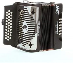 Hohner Panther Diatonic Accordion – keys of F, Bb, and Eb