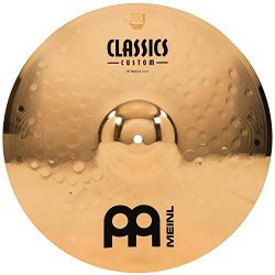 Meinl 16″ Medium Crash Cymbal  –  Classics Custom Brilliant – Made in Germany, ...