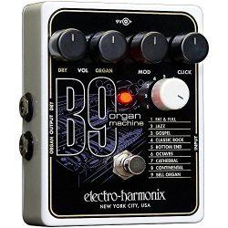 Electro-Harmonix B9 Organ Machine Pedal w/Bonus Dunlop PVP101 Variety Pick-Pack (x12) 683274011547