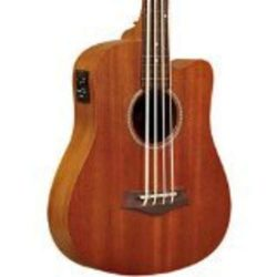 Gold Tone 4 String Bass Guitar, Right Handed, Natural (M FL