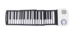 iLearnMusic Roll Up Piano, Premium Grade Silicone, Built-in Speakers – Educational Piano ( ...