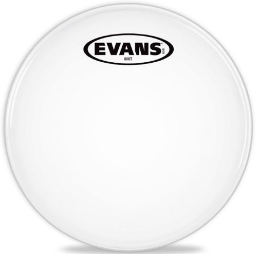 Evans MX White Marching Tenor Drumhead, 6 Inch