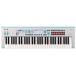 Korg Kross2 61-Key Neon Keyboard Workstation (Neon Blue)