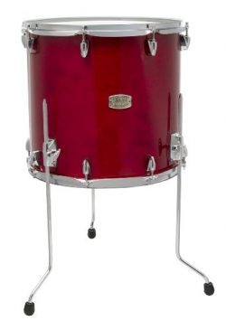 Yamaha Stage Custom Birch 14×13 Floor Tom, Cranberry Red