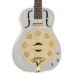 Luna Steel Magnolia Resonator Electric Guitar