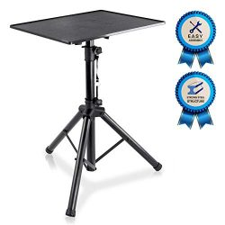 Pro DJ Laptop, Projector Stand – Adjustable Laptop Stand, Computer DJ Equipment Studio Sta ...