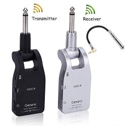 Getaria 2.4GHZ Wireless Guitar System Built-in Rechargeable Lithium Battery Digital Transmitter  ...