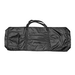 Black 61 Keys Electronic Organ Case Keyboard Piano Gig Bag W. Side Bags – 1M