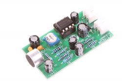 NOYITO 12V High-fidelity Microphone Pickup Module Noise Reduction Microphone Amplifier Board Hig ...
