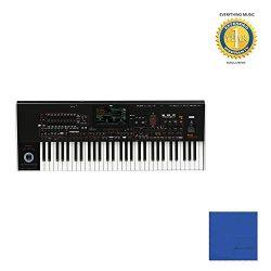 Korg Pa4X ORIENTAL PA4XORT61 Professional 61-Key Arranger Keyboard with Microfiber and 1 Year Ev ...