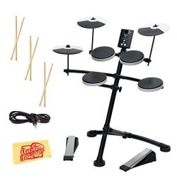Roland TD-1K Electronic Drum Set Bundle with 3 Pairs of Sticks, Audio Cable, and Austin Bazaar P ...