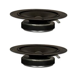 Goldwood Sound, Inc. Sound Module Black 3.5″ Kapton Tweeters 80 Watt each 8ohm Replacement ...