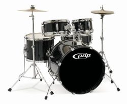 Pacific Drums PDJR18KTCB PDP Junior 5-Piece Drum Set