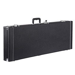 Yaheetech Electric Guitar Hard Shell Case Portable Square Guitar Case for Standard Electric Guit ...