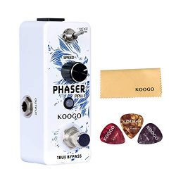 Koogo Analog Phaser Guitar Effect Pedal Vintage/Modern Mode True Bypass