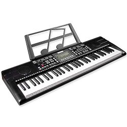 Mugig 61-key Keyboard Piano, Electronic Portable Keyboard, Professional digital piano keyboard w ...