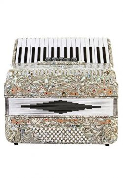 Rossetti Piano Accordion 72 Bass 34 Keys 5 Switches Opal