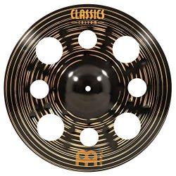 Meinl Cymbals 16″ Trash Crash Cymbal with Holes – Classics Custom Dark – MADE  ...