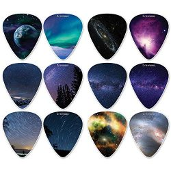 Creanoso Galaxy Guitar Picks (12-Pack) – Premium Music Gifts & Guitar Accessories for  ...
