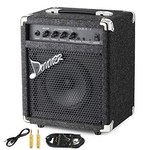 Donner Electric Guitar Amp : new donner 25w bass guitar amplifier dba 2 electric bass combo amp with cable musicalbin ~ Russianpoet.info Haus und Dekorationen