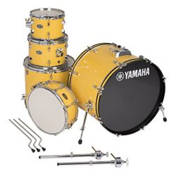 Yamaha Rydeen 5pc Shell Pack with 22″ Bass Drum, Mellow Yellow