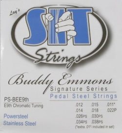 2 SETS – SIT E9th-10 Stainless Pedal Steel Guitar Strings