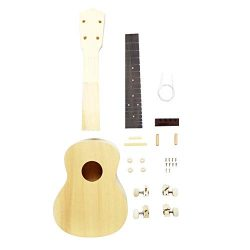 Zimo Make Your Own Ukulele 23in Concert Ukulele Hawaii Ukulele DIY Kit