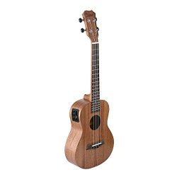 Caramel CT402 All Solid Mahogany Acoustic & Electric Tenor Ukulele With Truss Rod