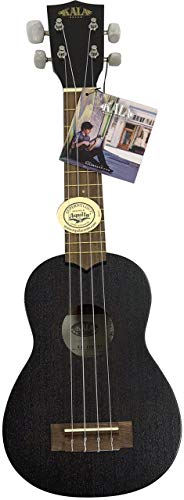 Kala Mahogany KA-15S-ET Soprano Ukulele (Soprano – Black Matte)