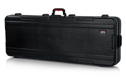 Gator Cases Molded Flight Case for 76-Note Keyboards with TSA Approved Locking Latches and Reces ...