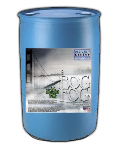 Bog Fog – Extreme High Density Fog Juice – HDF Fog Machine Fluid – 55 Gallon D ...