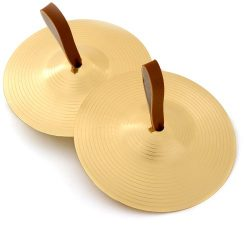Percussion Plus 6 inch Pair of Marching Cymbals